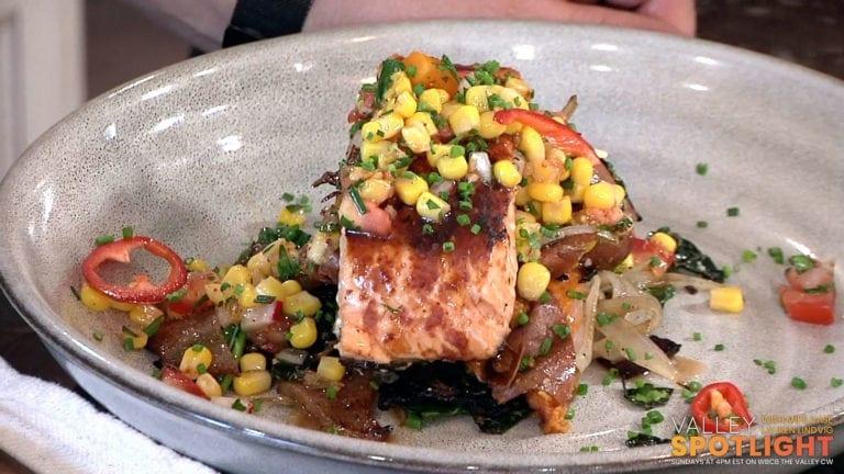 Bourbon BBQ Salmon