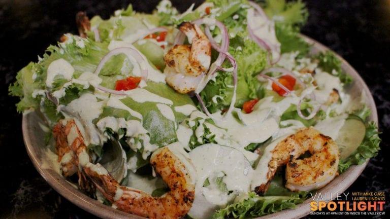 Test Kitchen Green Goddess Salad & Champagne Spritzer