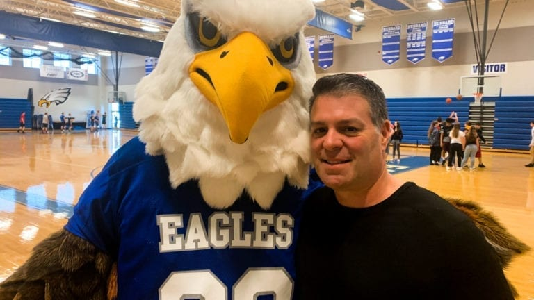 Isaac Powell - Hubbard Eagles Mascot