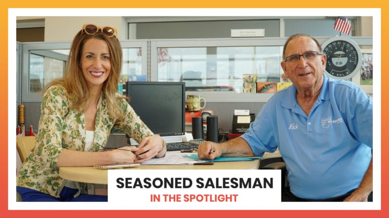 A Seasoned Salesman | In The Spotlight