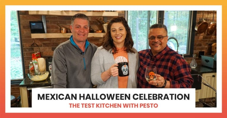 Mexican Halloween Celebration | The Test Kitchen with Pesto