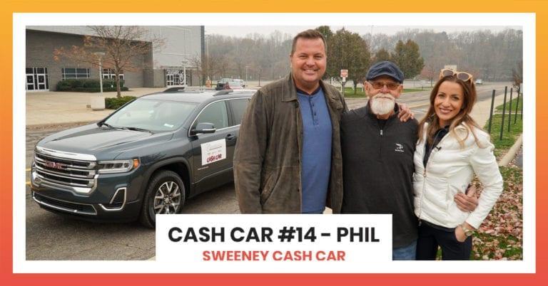 Sweeney Cash Car #14 - Phil | Sweeney Cash Car