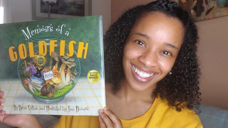 Memoirs of a Goldfish by Devin Scillian | Clark's Cozy Corner