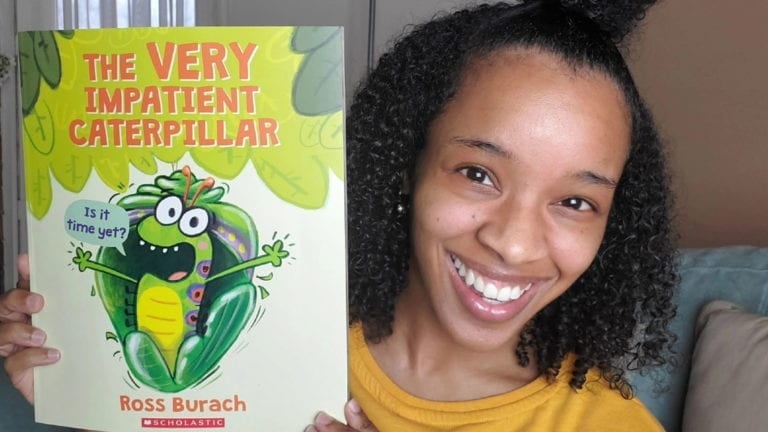 Very Impatient Caterpillar by Ross Burach | Clark's Cozy Corner