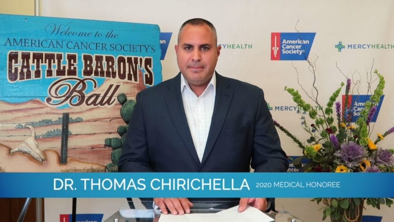Medical Honoree: Dr. Thomas Chirichella | 2020 ACS Cattle Baron's Ball on Valley Spotlight