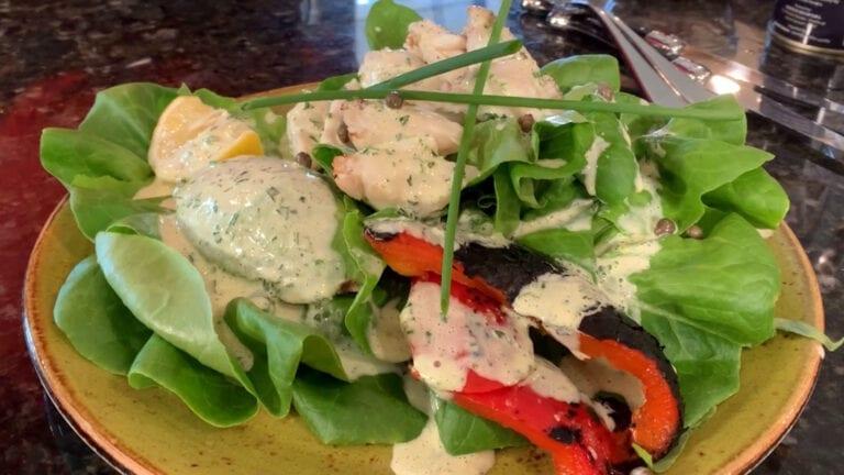 Crab & Avocado Salad | Pesto's Test Kitchen